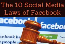 The 10 Social Media Laws of Facebook