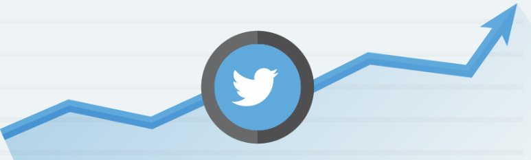twitter growth arrow