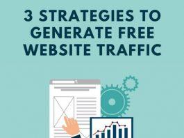 3 Strategies to Generate Free Website Traffic