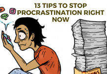13 Tips To Stop Procrastination Right Now