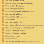 Facebook page tips for newbies