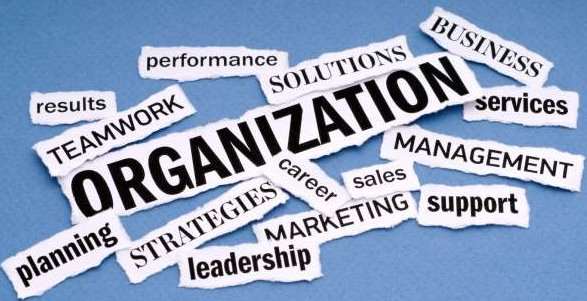 proper organization