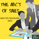 the abc of sales,Basic Tips for Building Sales