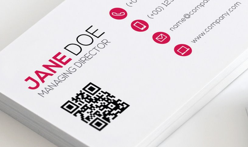 qr codes for the cards