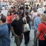 rush in market