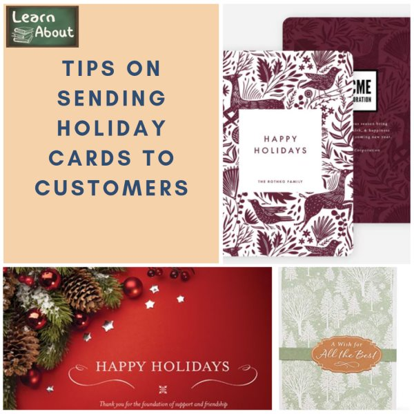 Tips on Sending Holiday Cards to Customers