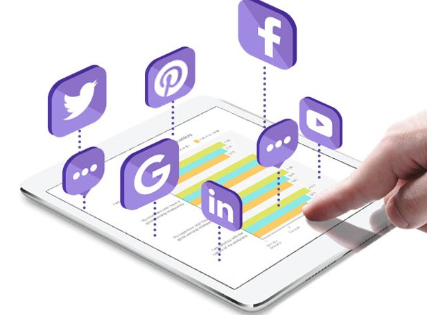 integrate social media and website