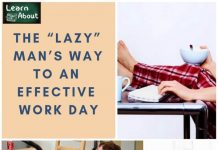 "The ""Lazy"" Man's Way to An Effective Work Day"