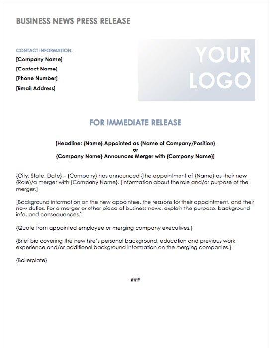 Write Press Release
