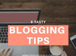 8 Tasty Blogging Tips