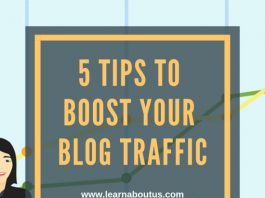 5 Tips to Boost Your Blog Traffic