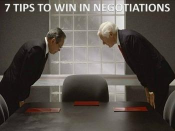 Master Negotiator | 7 Tips to Win In Negotiations