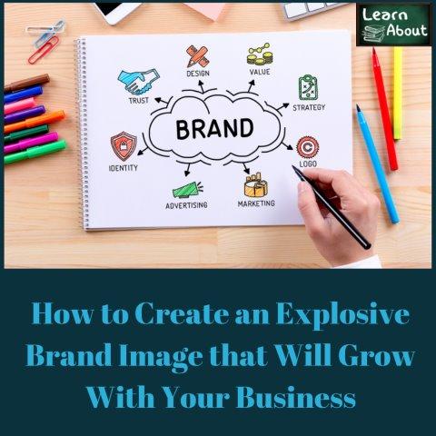 explosive brand image