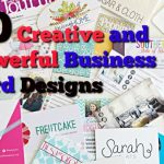 10 Creative & Powerful Business Card Designs