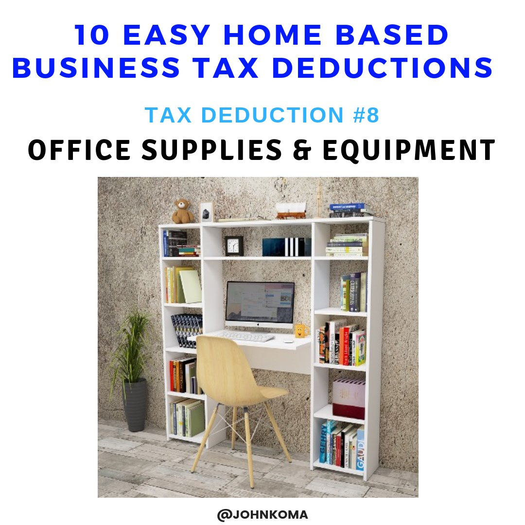 10 Easy Home Based Small Business Tax Deductions