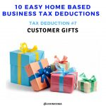 lawn care business tax deductions -customer gifts