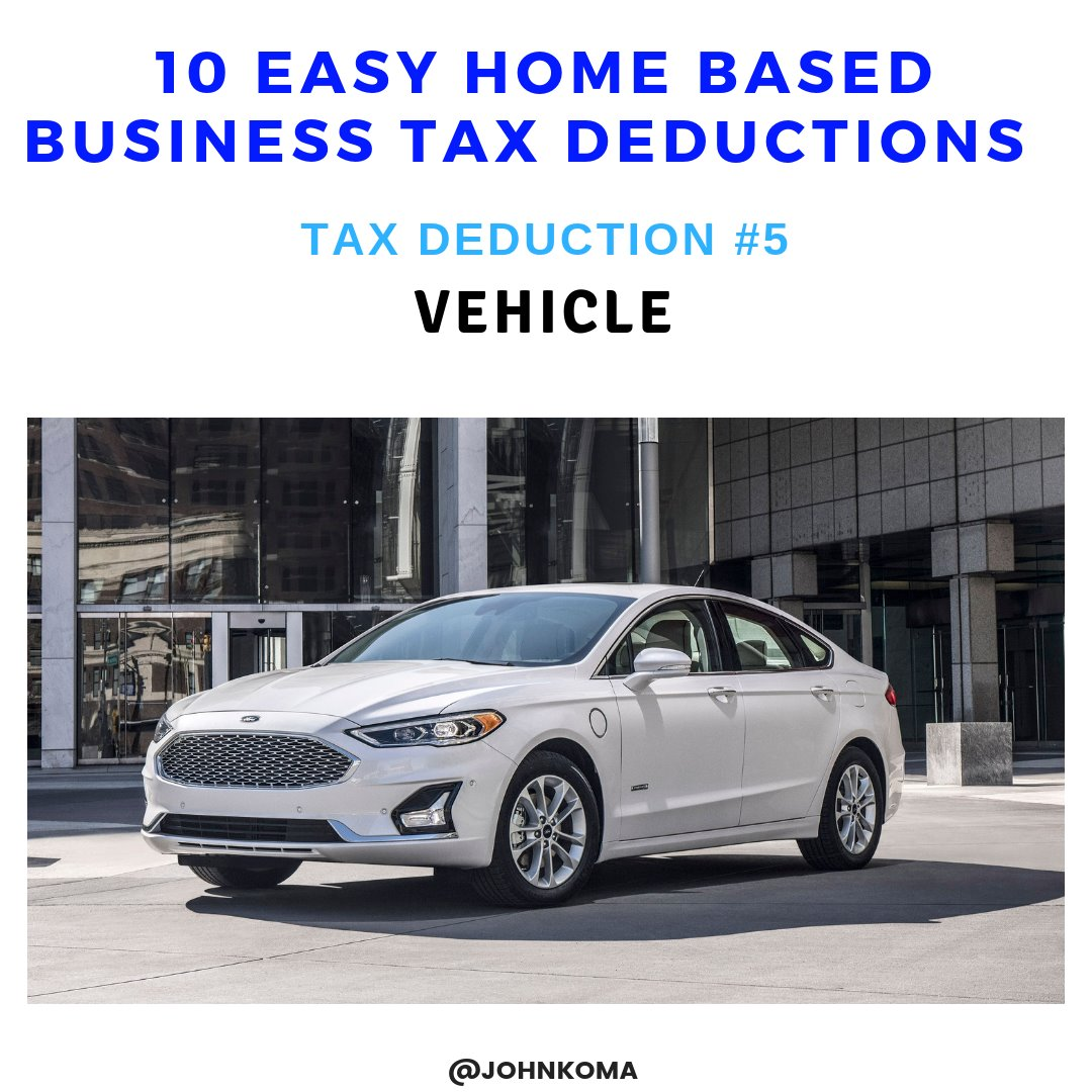 small home business tax deductions -vehicle