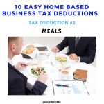 construction business tax deductions -Meals