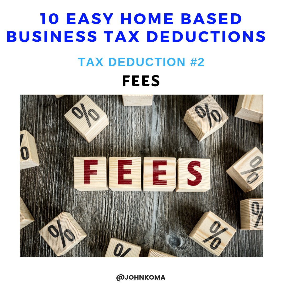 closing a business tax deductions-Fees