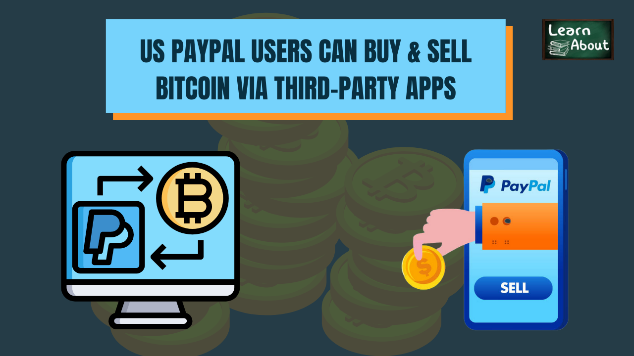 US Paypal users can Buy & Sell Bitcoin via third-party apps