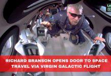 Billionaire space travel