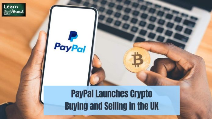 paypal launches crypto in uk