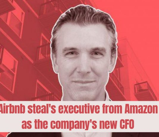 Amazon's executive joins Airbnb as the company's new CFO