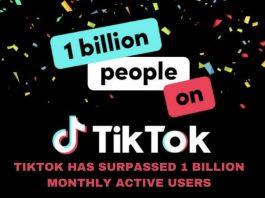 TikTok says it has passed 1 billion users